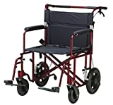 Drive Medical Model-ATC22-R Bariatric Heavy Duty Transport Wheelchair