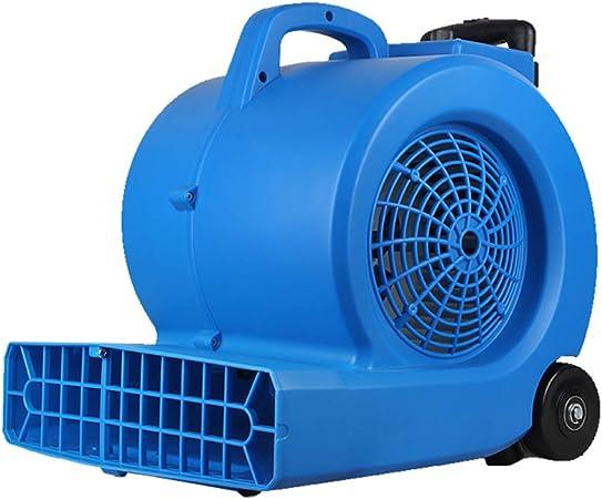 Ventilador de Piso Ligero con secador de alfombras de Air Mover para Limpiador Profesional de Limpieza, Ventilador ...