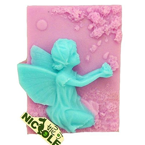 Fairy Kneeling Catching Petals Soap - My Online Find Shape Face