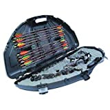 Flambeau Outdoors Compound Bow Case Sleek Black Finish 4 Locking Points 6461SC