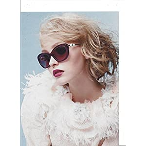**PRINT AD** With Lilly Rose Depp For 2015 Chanel Sunglasses **PRINT AD**
