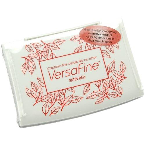 VersaFine Pigment Inkpad-Satin Red