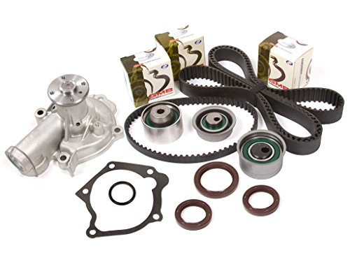 Evergreen TBK167WPT2 95-99 Mitsubishi Eclipse Eagle Talon Turbo 2.0 4G63T Timing Belt Kit Water (Mitsubishi Eclipse Turbo Engine)