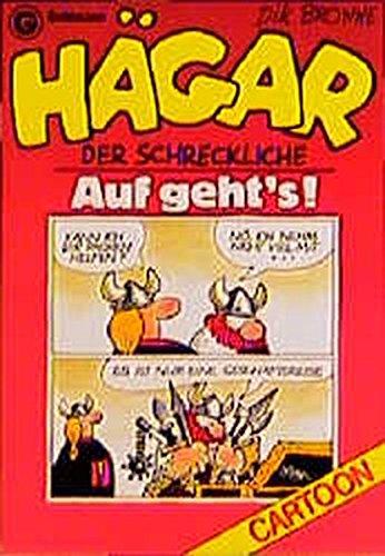 Hägar, der Schreckliche: Auf geht's! (Goldmann Cartoon) Taschenbuch – 1. Februar 1986 Dik Browne Hägar 3442069823 monda17425