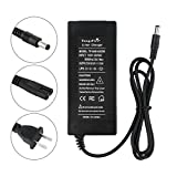 tangsfire 36V Bike Battery Charger Output 42V 2A For Electric Bicycle DC5.5mm2.1mm Connector