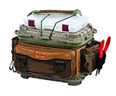 The leader in tackle storage innovation, Plano, introduces the new and improved Guide Series Tackle Bag. Equipped with six 3650 stow aways, 3 exterior zipper pockets, and 4 slip pockets there is plenty of room for every bait in your aresenal....