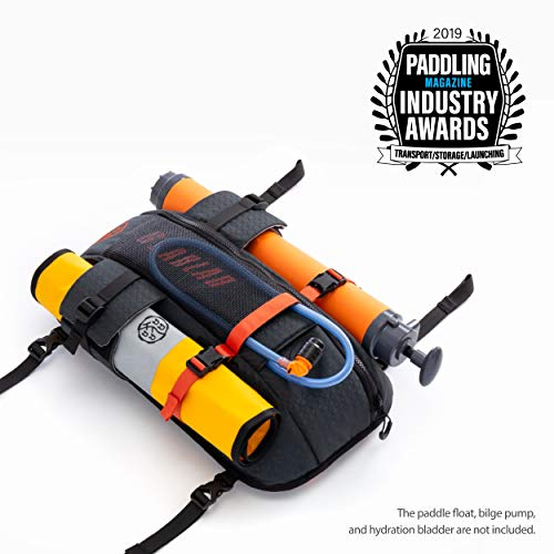 Gearlab Deck Pod - Kayak/SUP Deck Bag, Paddling Magazine Award Winner 2019, Paddle Float, Bilge Pump