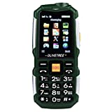 Lywey 2018 Super Long Standby Time Unlocked GSM Cell Phone Older Phone English Keyboard 9800mAh Battery Dual Sim for Kids or The old man (Army Green)