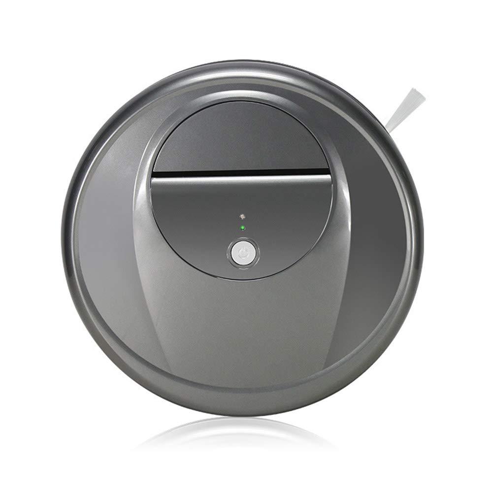 MIAO@LONG Robot Aspirador con Sensores Anti-Caída Y Anti-Colisión Robot De Limpieza De Alta Succión para Pisos Duros Y Alfombras Delgadas, Uso Sostenible ...