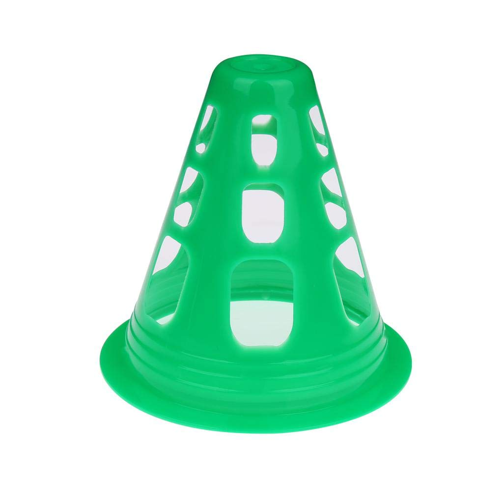 Picnic and Other Outdoor Activities wewwe232783ajshgq Fashionable 10Pcs A Set Agility Maker Cones for Slalom Roller Skating Training Traffic Cone Sports Design for Camping