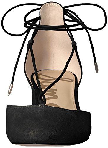 Sam Edelman Womens Loretta Dress Pump In Camoscio Nero