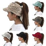 Womens Cap, deatu Ladies Teen Girl TwistPeaked Cap Knit Wool Hat Hollow Out Multicolor Point Caps