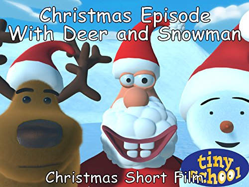 Christmas Episode With Deer And Snowman - Christmas Short Film - Tinyschool