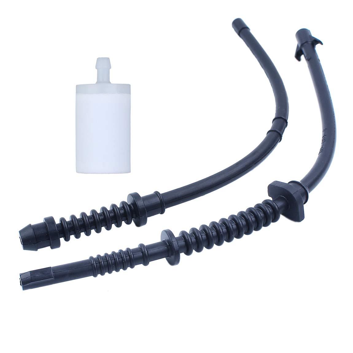 Haishine Fuel Return Line Fuel Filter Fit Husqvarna 435 440 445 450 E 544128601 577535101 523055201