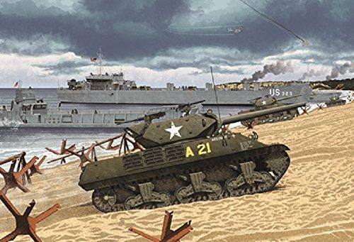 Academy 1/35 M10 GMC US Army model kit by Academy