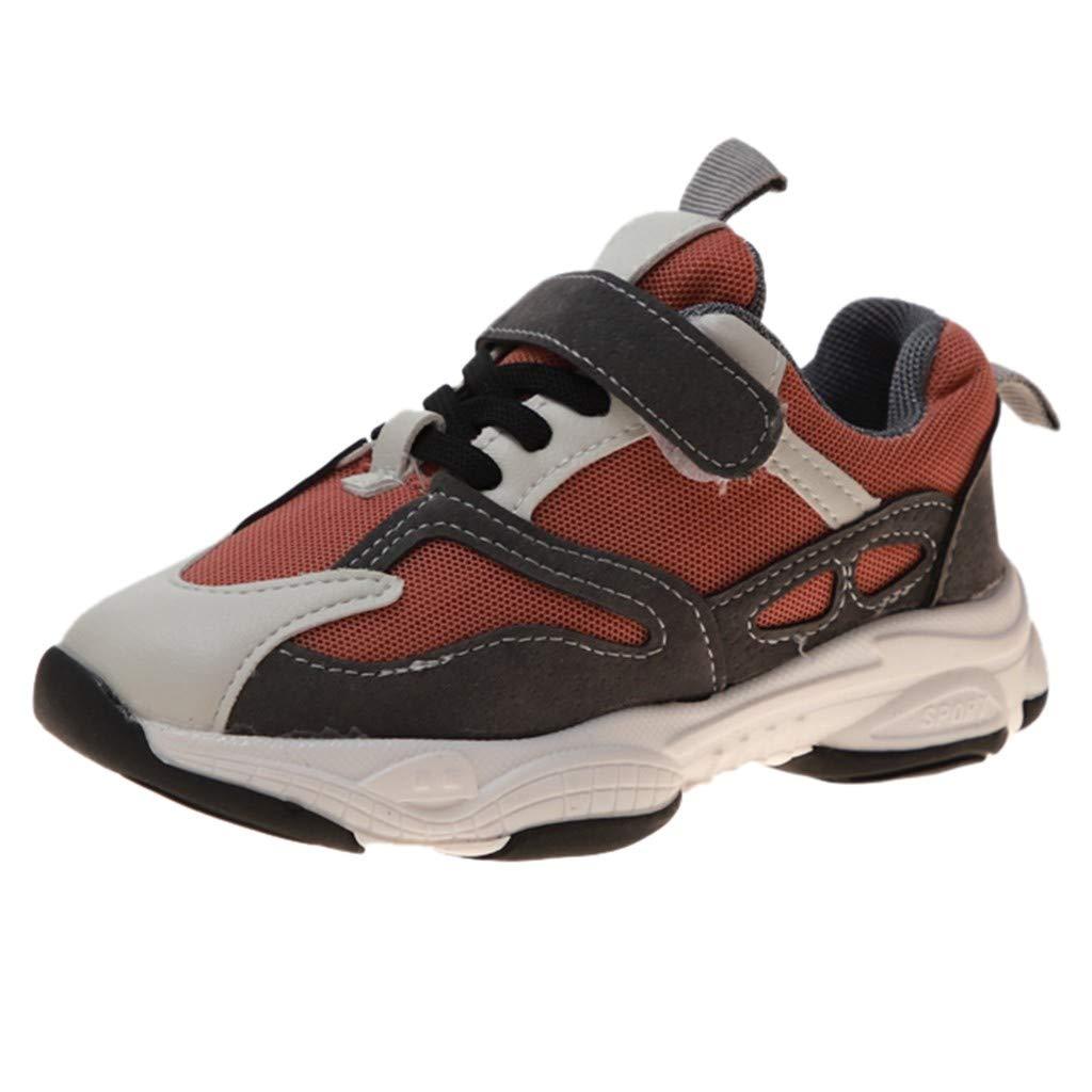 Basket Enfants Gar/çon Sneakers Comfort Chaussure de Sport Fille Chaussures de Course Plateforme Antid/érapant Respirant Comp/étition Entra/înement Runing EU 26.5-35