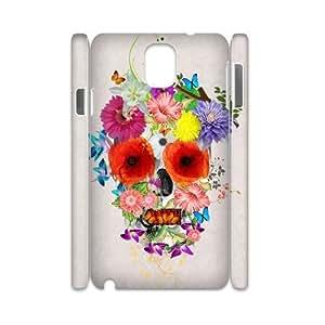Customized Durable Case for Samsung Galaxy Note 3 N9000 3D, Skull Phone Case - HL-R635343 wangjiang maoyi