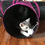 PetLike 3 Way Cat Tunnel Pop-up Collapsible Pet