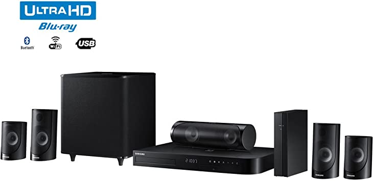 Samsung HT-J5500W - 5.1ch 1000-Watt 3D Smart Blu-ray Home Theater System w/ Bluetooth: Amazon.es: Electrónica