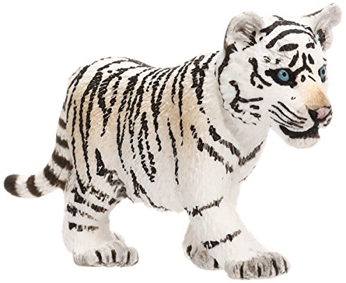 Snow Tiger (Schleich Tiger Toy Figure, White)