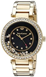 Juicy Couture Women's 1901331 Analog Display Quartz Gold Watch