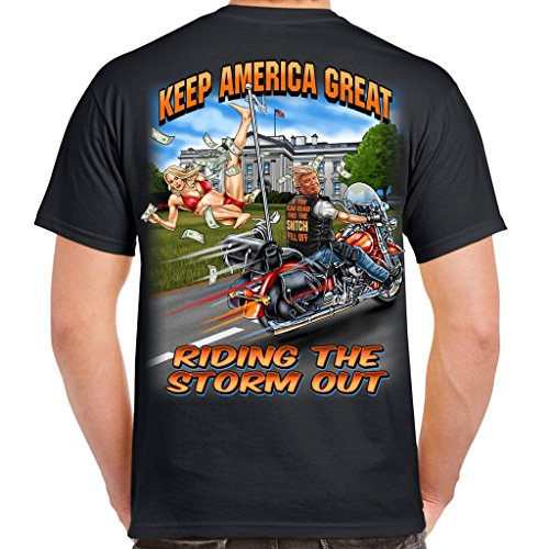 Biker Life USA Trump's Snitch Fell Off T-Shirt