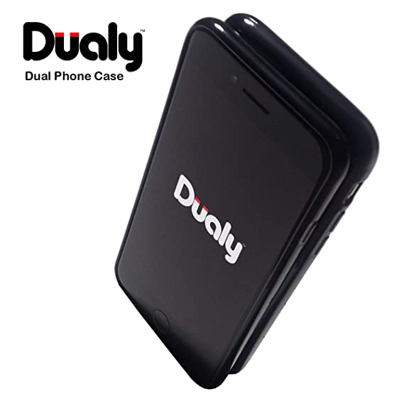 the best attitude cf5be bb657 Amazon.com: DUALY Dual Phone Case for Samsung Galaxy S9 (Connects to ...