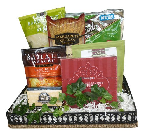 Healthy Congratulations Gift Basket by Well Baskets
