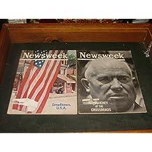 2 Newsweek Magazines July 8 22 1963 Smalltown, USA, Kruschev