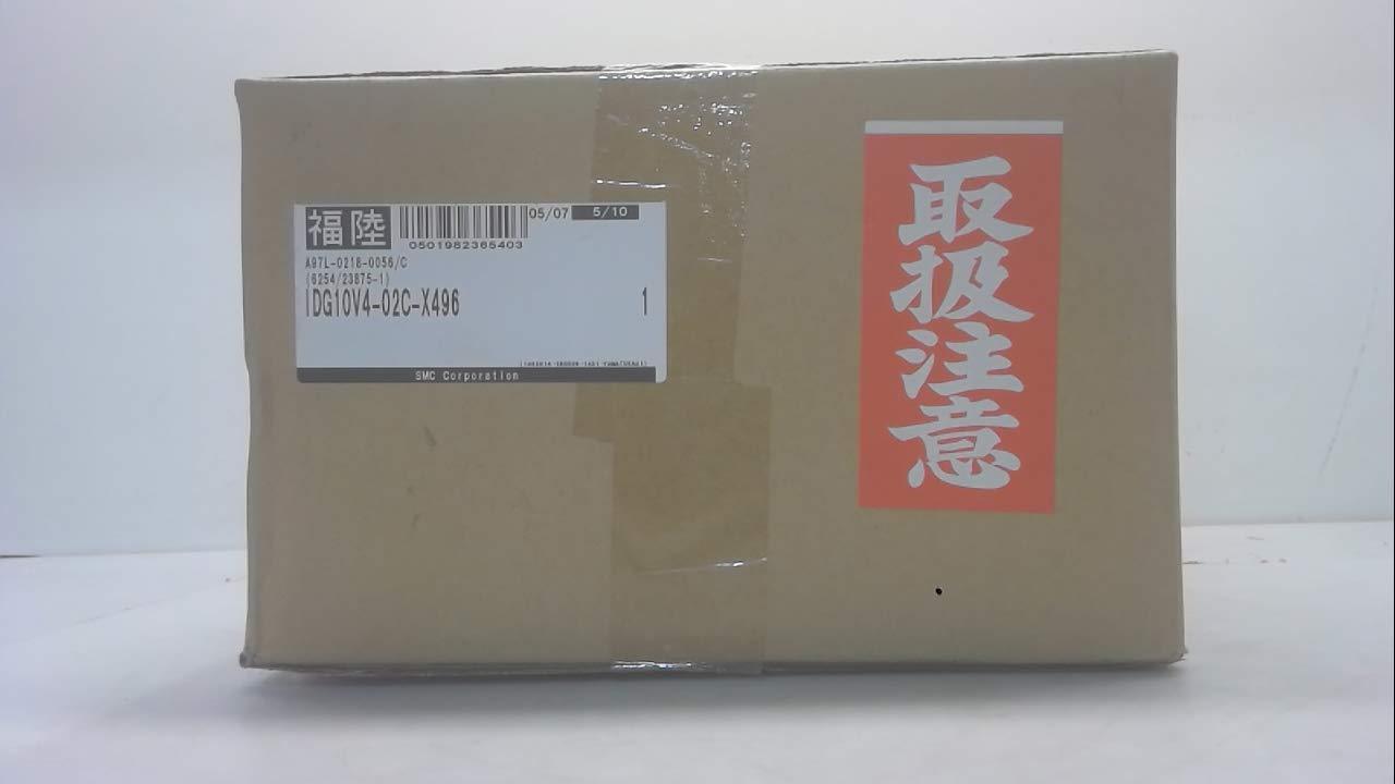 Smc Idg10v4-02C-X496, Membrane Air Dryer, Size 10, Port Size: 1/4 Idg10v4-02C-X496