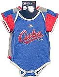 Chicago Cubs Vintage Baby / Infant Go Team 2 Piece Creeper Set 0-3 Months