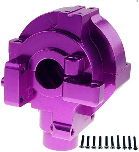 Toyoutdoorparts RC 102075(02051) Purple Aluminum Gear Box For HSP 1/10 On-Road Car Buggy Truck