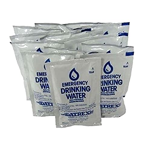 Datrex Emergency Water Packet 4.227 oz - 3 Day/72 Hour Supply (18 Packs) - 3 Day Emergency Survival Kit