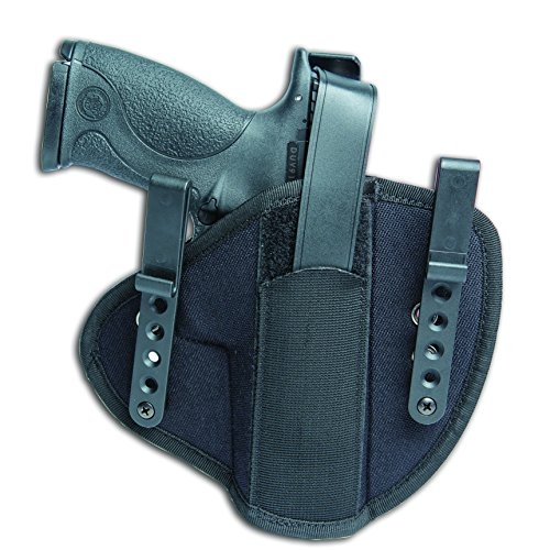 Uncle Mike's Tactical Inside-the-Waistband Tuckable Holster, Ambidextrous, Size 15 ()