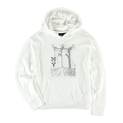 Aeropostale Womens Brooklyn Bridge Hoodie Sweatshirt