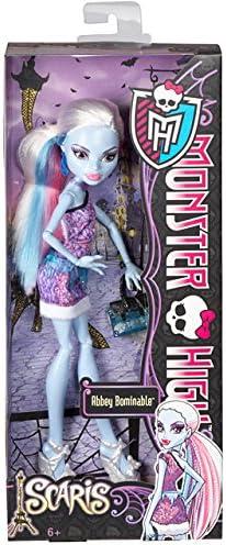 Amazon.es: Monster High - Muñeca Scari, Abbey (Mattel Y0393): Juguetes y juegos