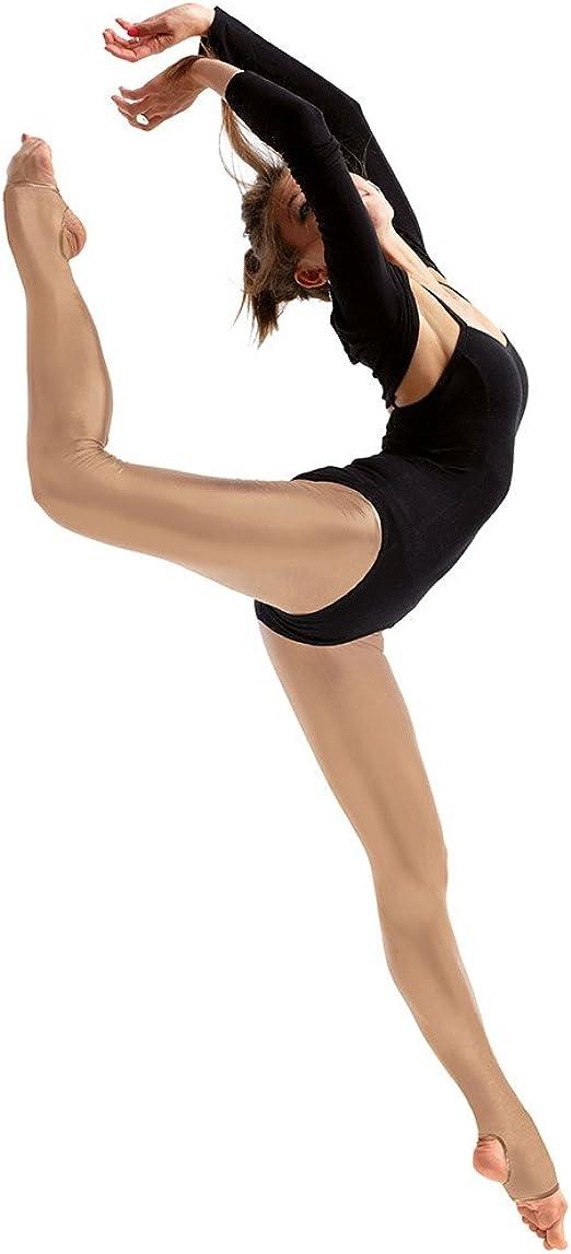 Silky Girls Dance Shimmer Stirrup Tights 1 Pair