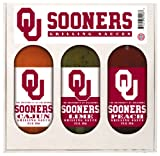 8 Pack OKLAHOMA Sooners Grilling Gift Set 3-12 oz