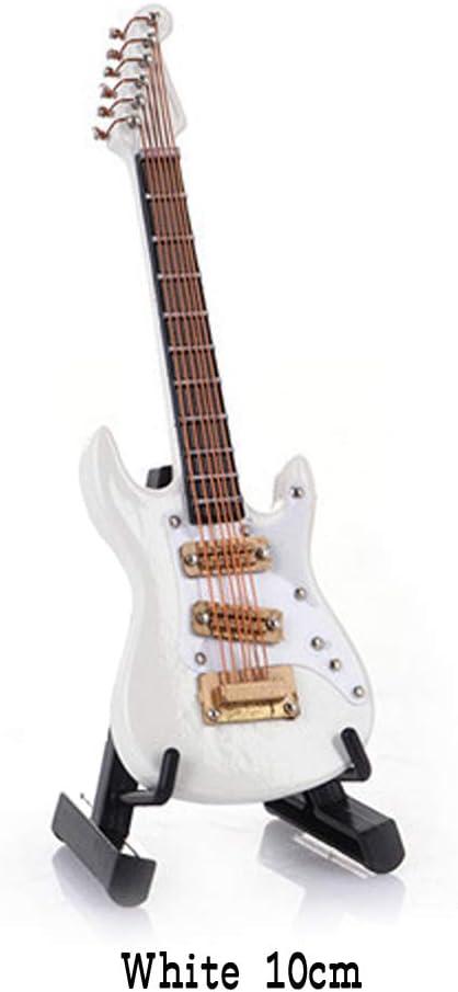 Mini Guitarra Eléctrica de Madera Decoración Árbol de Navidad Adornos de Bolas Mini Instrumentos Musicales Modelo 10cm / 14cm: Amazon.es: Instrumentos musicales