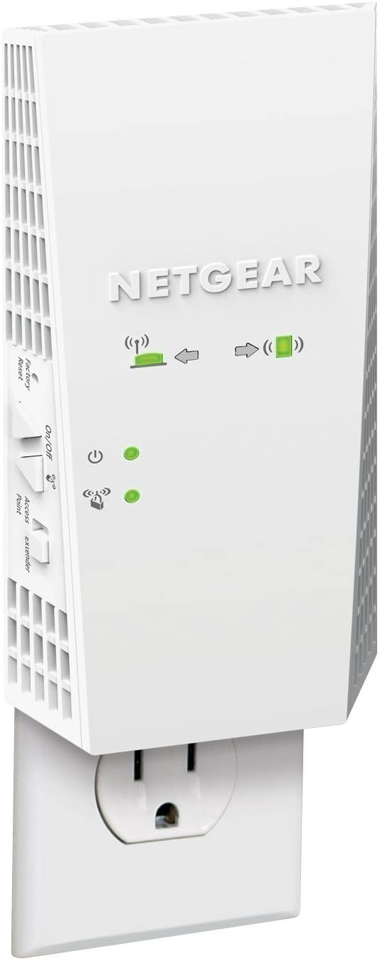 NETGEAR WiFi Mesh Range Extender EX6400 - Coverage up to 2100 sq.ft. and 35 Devices with AC1900 Dual Band Wireless Signal Booster & Repeater (up to 1900Mbps Speed), Plus Mesh Smart Roaming