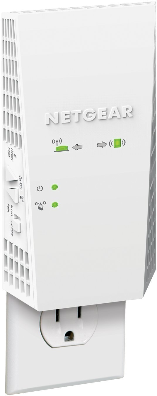 NETGEAR WiFi Mesh Range Extender EX6400 - Coverage up to 1800 sq ft  and 30  Devices with AC1900 Dual Band Wireless Signal Booster & Repeater (up to
