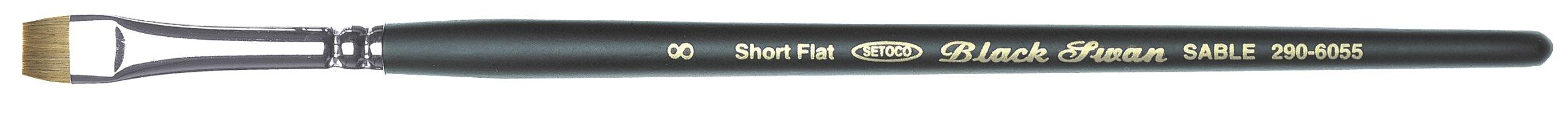 Setokoakuriru-watercolor brush Black Swan black axis disabled script No. 6 290-6028 (japan import)
