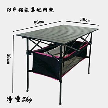 Xing Lin Mesa Al Aire Libre Piscina Mesa Plegable Portátil Mostrar Tabla De Calado De Aluminio