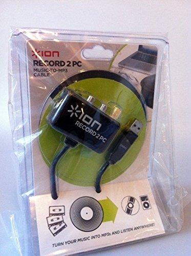 ION RECORD2PC - Tocadiscos, Cassette, audio señales en PC grabar ...