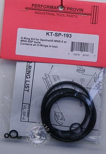 Spotnail Mns 5  Mns 5Sp O Ring Kit   Ktsp193