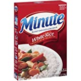 Minute Instant Enriched Long Grain, White Rice, 14 oz (Pack of 2)