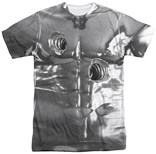 [Terminator 2 - T1000 Costume T-Shirt Size XXXL] (Cameron Terminator Costume)