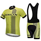 White Men's Cycling Clothing Sets