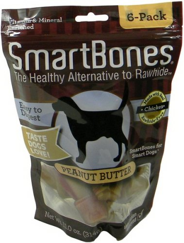 SmartBones Peanut Butter Dog Chew, Small, 6-count For Sale