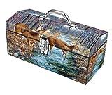 Sainty Art Works Toolbox Best Deals - Sainty Art Works 24-125 Caution in The Wind Box Art Deco Tool Box